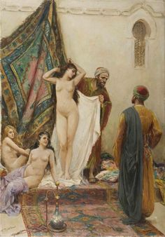 Il mercato delle schiave