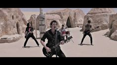 """Three years ago The More I See visited the actual Star Wars set in the Tunisian desert to record this incredible video for """"The Eye That Offends"""". Happy Star Wars Day, Star Wars Set, The Incredibles, Eyes, Music Videos, Cat Eyes"""