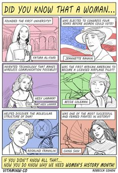 Some women in history