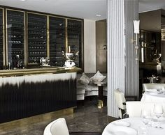 Wine storage | Bar back | Arianna Interiors: Murano Restaurant