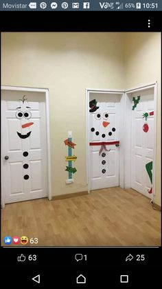 great Simply make Christmas decorations - doors - decoration Christmas - . - great Simply make Christmas decorations – doors – decoration Christmas – … – Noel - Easy Christmas Decorations, Diy Christmas Gifts, Winter Christmas, Christmas Home, Easy Decorations, Christmas Budget, Decor Diy, Decor Ideas, Christmas Ideas For Kids