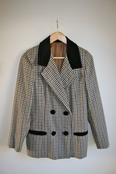 1990's Tweed Jacket by LaMasionAmour on Etsy, £60.00