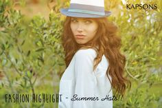 Good times, Tan lines and a classic summer hat. #FashionAlert #Kapsons #SummerHats