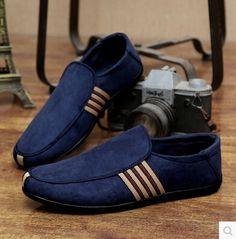 finest selection 90858 35b4d Encontrar Más Pisos para hombres Información acerca de 2016 primavera para hombre  zapatos planos para hombre mocasines hombres moda Casual Shoes zapatos de  ...