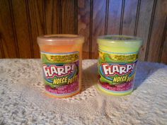 2 NEW Jaru Flarp Fart Noise Putty Orange and Yellow Ages 3+ #JARU