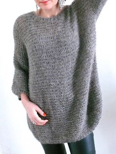 Pull Benoit by Bee Made (tuto Hand Knitting, Knitting Patterns, Tricot Baby, Yarn Inspiration, Knitting Projects, Knitwear, Knit Crochet, Pullover, Clothes