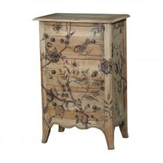 Carlyle 3 Drawer Bow Front Chest II