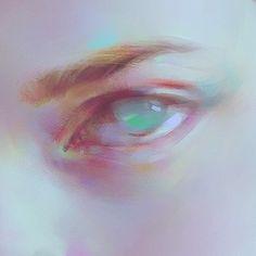 eye wip by Yanjun Cheng on ArtStation. Art And Illustration, Pretty Art, Cute Art, Art Tutorials, Drawing Tutorials, Arte Sketchbook, Realistic Paintings, Art Plastique, Art Inspo