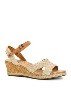 Love these! Especially the small wedge- UGG® Australia Luann Wedge Sandal