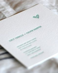 """See the """"Minimalist Invitation"""" in our  gallery"""