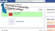 Facebook Privacy Watcher Color Codes Your Privacy Settings (Firefox)