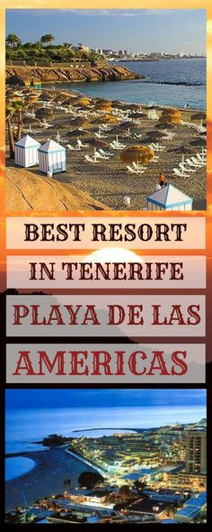 Tenerife is the largest of Canary islands and many low cost airlines offer cheap flights throughout winter. Playa de las Americas is one of the three resorts located in the Southern part of the island. This article will give you an overview of things to do and see in this awesome resort.