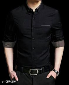 Shirts Unique stylist branded formal shirt for men Fabric: Cotton Sleeve Length: Long Sleeves Pattern: Self-Design Sizes: M (Chest Size: 39 in Length Size: 28 in)  L (Chest Size: 41 in Length Size: 29 in) XL (Chest Size: 43 in Length Size: 30 in) Country of Origin: India Sizes Available: M, L, XL   Catalog Rating: ★4 (535)  Catalog Name: Comfy Fashionista Men Shirts CatalogID_2007489 C70-SC1206 Code: 435-10874216-4731