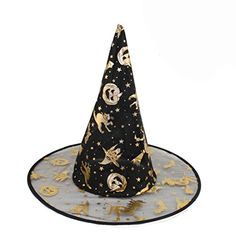 New Adult Womens Black Witch Hat For Halloween Costume Accessory Scary Costumes Halloween Supplies Fontes do Dia das Bruxas Hot Witch Costumes, Scary Costumes, Halloween Party Costumes, Cosplay Costumes, Witch Hats, Halloween Prop, Cosplay Dress, Halloween Ideas, Halloween Decorations