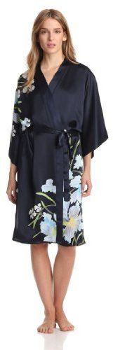 Samantha Chang Women's Hand Painted Silk Kimono on shopstyle.com