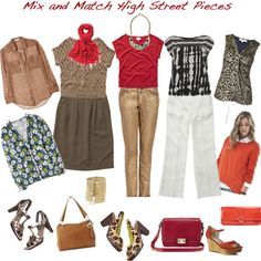 Mix and match Online high street pieces from my wishlist blog http://www.lookingstylish.co.uk/2012/02/14/spring-wishlist/