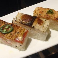 Who is craving for the Oshi tonight? #aburirestaurants #MikuToronto #mikuvancouver #minamiyaletown #aburi #restaurant #dinner #afterwork #Toronto #vancouver #sushi #contemporary #cuisine #newopen #comesayhi #softopening #foodporn #foodie #like4like #photooftheday by akicopicorrot
