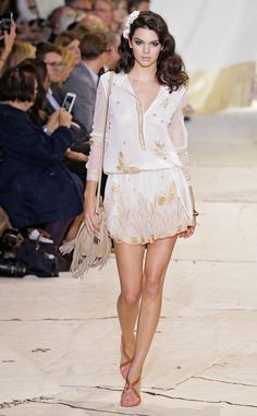 Kendall Jenner from Stars at New York Fashion Week Spring 2016  Yet again, Kendall reminds the fashion crowd that her strutting skills areunbeatable.