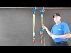 Rope and Pulley Systems: Segment 7 - Two, Configurations and Some General Concepts Pully System, Mechanical Projects, Mechanical Advantage, Firefighter Training, Block And Tackle, Rappelling, Pulley, Health And Safety, Survival Gear