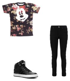 """""""simple"""" by aricari1301 ❤ liked on Polyvore featuring adidas, women's clothing, women, female, woman, misses and juniors"""