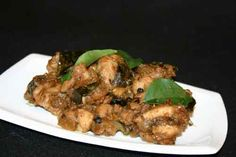Masala Chicken   If you want to try an Indian chicken recipe without the long list of ingredients, this is the perfect choice! With some basic whole spices and fragrant curry leaves, whip up delicious gravy-less chicken that goes well with any flat bread.