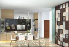 #decor #decoration #interiors #moderndecor Dining Area, Modern Decor, Divider, Interior Design, Apartments, Room, Design Ideas, Inspiration, Furniture