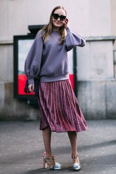 Paris FW Fall 2017 Street Style