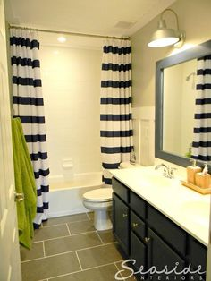Kids Nautical Bathroom wall color: Repose Gray by Sherwin Williams