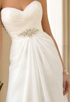 Wedding Gown with Beautiful Detailing