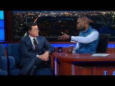Stephen Colbert Let DeRay McKesson Interview Him About His Whiteness, social injustice, as they discuss the #BlackLivesMatter movement.