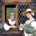 Colonial living history settlement at St. Mary's City in Southern Maryland