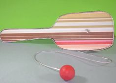 DIY Paddle Ball Will Provide Hours of Entertainment!