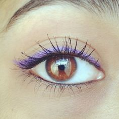 Instagram Insta-Glam: Colored Liners   Beauty High
