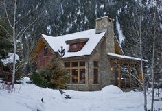 Can't wait to make the cabin year round. And make it look a little like this. ;)