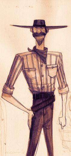 Sketchy Cowboy