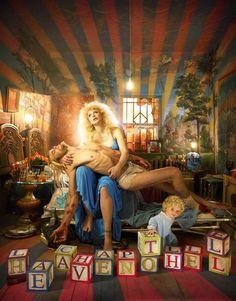 Courtney Michelle Love by David LaChapelle