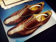 Every guy needs to own a pair of these! Hermes Lace-ups #shoes