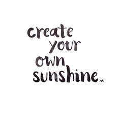 Create Your Own Sunshine. Discover more ways to be inspired by the seasons at www.TheSeasonalSoul.com