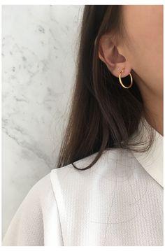 Casual Jewelry Fun Gift Transparent Round Pin Earrings BULK Sale Cheap Earrings 5 Pairs of Pin Earrings Cool Earrings