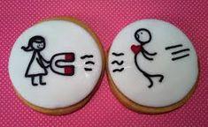 Resultado de imagen para fotos de cupcakes decorados con fondant de enamorados