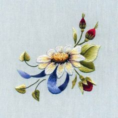crewel embroidery, decoupage flower, decoupage papers free printable, embroidery, flower, flower various, needle painting, trish burr,