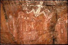 Aboriginal Rock Art, Kakadu National Park, Northern Territory, Australia