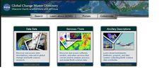 Global Change Master Directory es un directorio de la NASA con distintas herramientas y recursos.