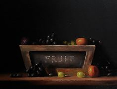 Daily Art Show (01/18/2013) - Fruit by Neil Carroll | FASO http://dailyartshow.faso.com/20130118/1071421