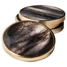 Threshold™ Faux Marble Coaster Set