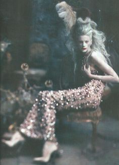 I Dream of a World of Couture. Paolo Roversi.