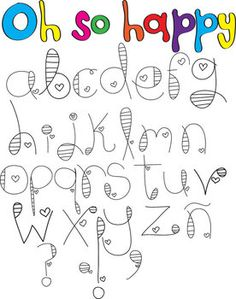 p hand lettering alphabet Doodle Fonts, Doodle Lettering, Creative Lettering, Lettering Styles, Brush Lettering, Chalk Typography, Tattoo Schrift Alphabet, Hand Lettering Alphabet, Cute Fonts Alphabet