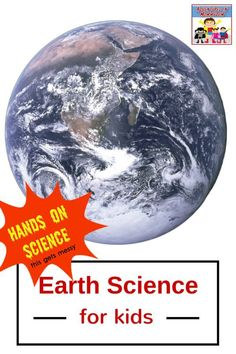 Earth Science activities for kids