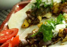 Egg & Potato Breakfast Tacos: Nothing says breakfast like sautéed ...