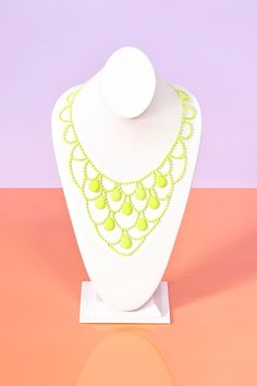 Neon Crystal Necklace
